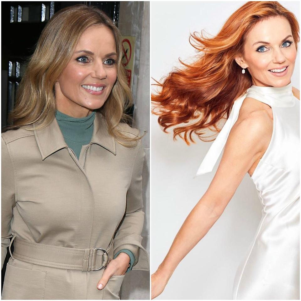 """Geri Horner (née Halliwell) is clearly fully committed to the nostalgia factor of the upcoming <a href=""""https://www.allure.com/topic/spice-girls?mbid=synd_yahoo_rss"""">Spice Girls</a> reunion tour because she made a triumphant return to the red hair so closely associated with her original girl-group look. She posted two L'Oréal-sponsored photos <a href=""""https://www.instagram.com/p/BxxFaTmnPLi/"""">on Instagram</a> declaring """"Ginger is back!"""" and sharing that she used the Preference shade Mango 74. Perhaps we should start calling her Mango Spice?"""