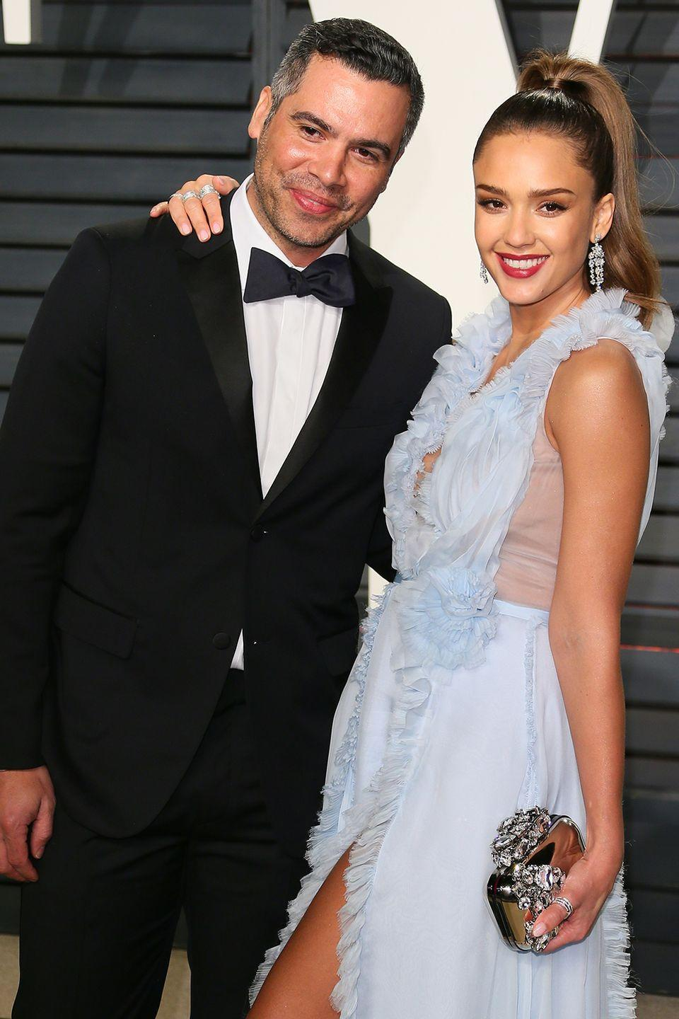 """<p><strong>How long they've been together:</strong> They got together shortly after meeting on the set of <em>Fantastic Four</em> (Alba was starring as Sue Storm and Warren was working as a production assistant) in 2004 and wed in a courthouse ceremony in Beverly Hills in 2008. """"Right after I met [Cash], I called my best friend and was like, 'I met this guy and I feel like I've known him forever and I'm going to know him for the rest of my life,'"""" she told <em>Cosmopolitan</em> in 2010.<br></p><p><strong>Why you forgot they're together:</strong> Despite Alba's A-list status, Warren is more of a behind-the-scenes-guy.<br></p>"""