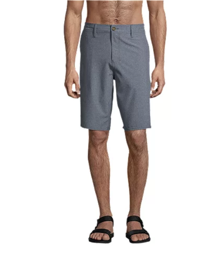 O'Neill Men's Loaded Heather 21 Inch Hybrid Shorts - Image via Sport Chek.