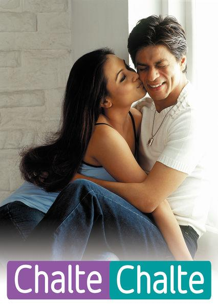 Rani Mukerji and Shah Rukh Khan in Chalte Chalte