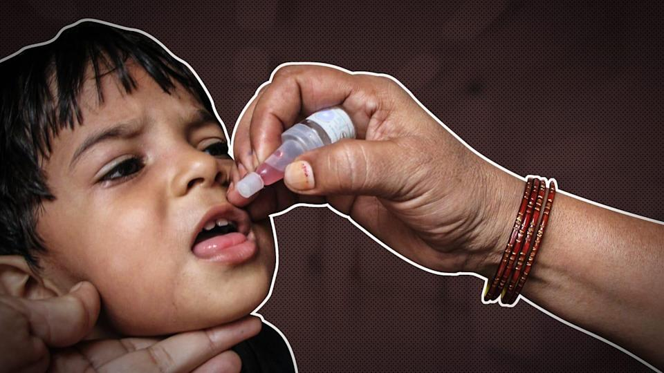 Maharashtra: 12 kids administered sanitizer instead of polio drops