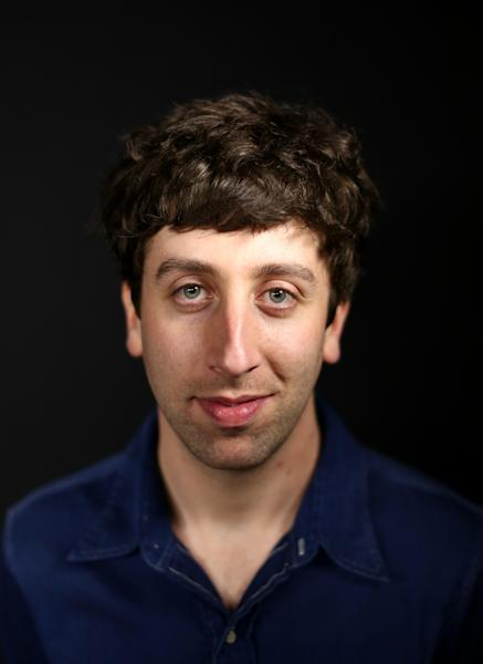 "In this Tuesday, May 7, 2013 photo, actor Simon Helberg poses for a portrait in Los Angeles. Helberg is a co-star of the CBS television show, ""The Big Bang Theory."" (Photo by Matt Sayles/Invision/AP)"