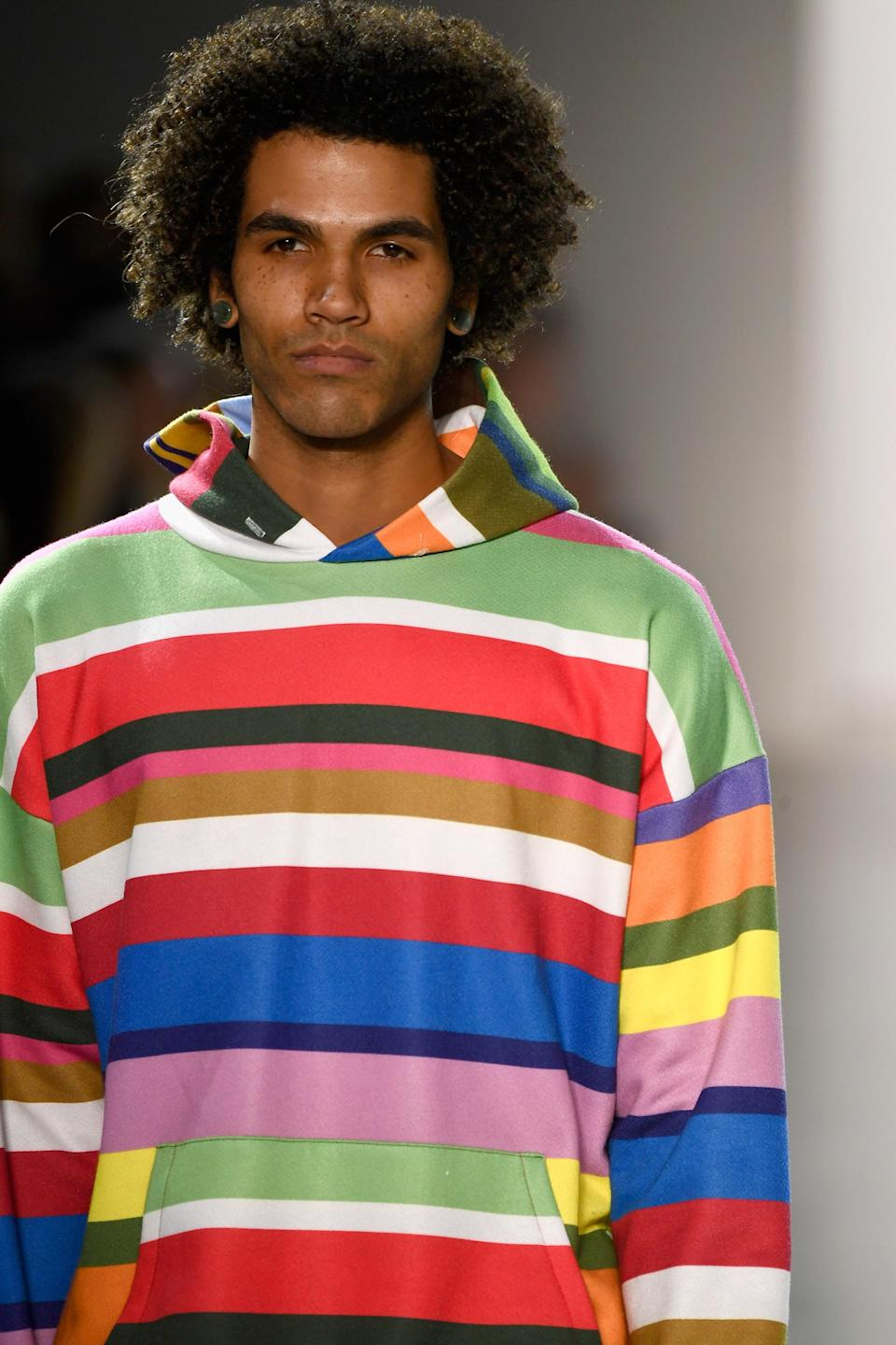 <p>Bros with 'fros. (Photo: Getty Images) </p>