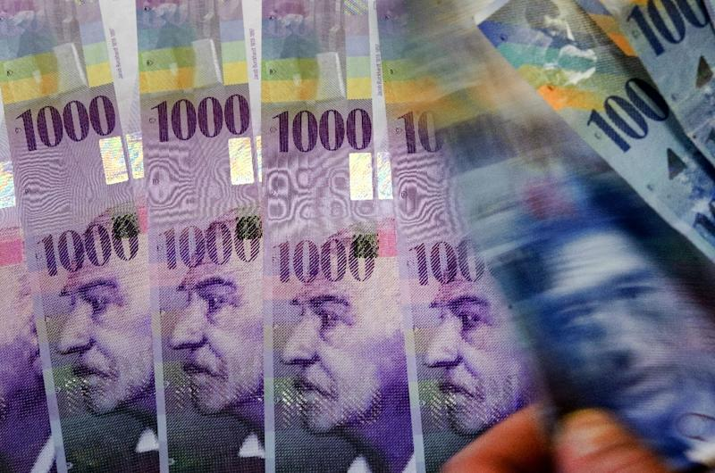 The rise in the value of the Swiss franc hit watch sales