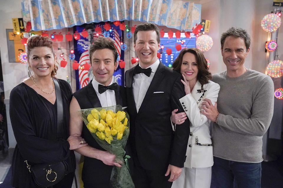 <p>While <em>Will & Grace</em> was an undeniable force in portraying gay lead characters on primetime TV from 1998-2006, the show never featured a same-sex wedding until its reboot in 2019, when Jack wed his partner Estefan. </p>