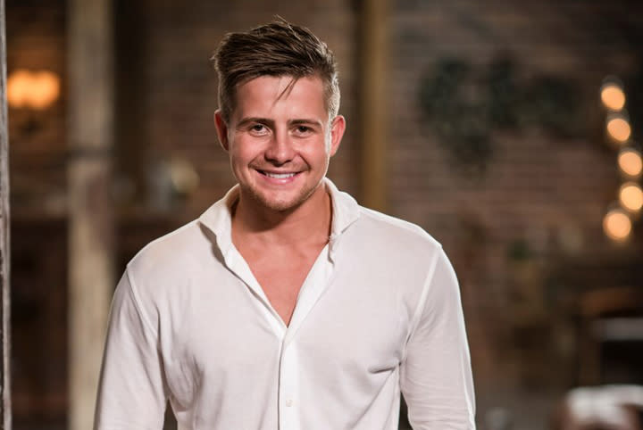 MAFS' Mikey at the final dinner party