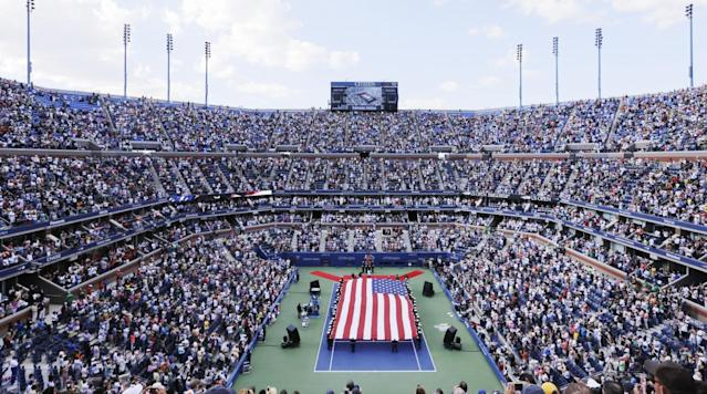 "<p>The final Grand Slam event of the year kicks off in New York City on Monday when play begins in the U.S. Open, and there are storylines aplenty on both the men's and women's side of the draw.</p><p>Injuries are the main headline for the men, as four of the top 12 players in the world—two-time champion Novak Djokovic, last year's winner Stanislas Wawrinka, 2015 finalist Kei Nishikori and Milos Raonic—will not play. Andy Murray, the 2012 champion, will play but has been struggling with a hip injury since Wimbledon, while Marin Cilic, who won in 2015, is also questionable. </p><p>Rafael Nadal is the top seed, but Roger Federer is the favorite. The 36-year-old has had a remarkable 2017, having won both majors he's played in (Australian Open and Wimbledon) and sporting a 19-2 record. </p><p>On the women's side, Serena Williams will not play due to her pregnancy. Gabrine Muguruza, Karolina Pliskova, Johanna Konta, Simona Halep and Venus Williams all have legitimate shots at the title. Muguruza is playing better tennis than anyone right now, and she enters the tournament with momentum after winning titles at Wimbledon and Cincinnati. </p><p>Here's a look at the television schedule for the 2017 U.S. Open. </p><p>DATE TIME EVENT NETWORK Aug. 28 11 a.m. - 1 p.m. First Round <a href=""http://www.espn.com/watch/"" rel=""nofollow noopener"" target=""_blank"" data-ylk=""slk:ESPN3"" class=""link rapid-noclick-resp"">ESPN3</a> Aug. 28 1 p.m. - 6 p.m. First Round ESPN Aug. 28 6 p.m. - 11 p.m. First Round ESPN2 Aug. 29 11 a.m. - 1 p.m. First Round ESPN3 Aug. 29 1 p.m. - 7 p.m. First Round ESPN Aug. 29 7 p.m. - 11 p.m. First Round ESPN Aug. 30 11 a.m. - 1 p.m. Second Round ESPN3 Aug. 30 1 p.m. - 7 p.m. Second Round ESPN2 Aug. 30 7 p.m. - 11 p.m. Second Round ESPN Aug. 31 11 a.m. - 1 p.m. Second Round ESPN3 Aug. 31 1 p.m. - 7 p.m. Second Round ESPN2 Aug. 31 7 p.m. - 11 p.m. Second Round ESPN Sept. 1 11 a.m. - 1 p.m. Third Round ESPN3 Sept. 1 1 p.m. - 6 p.m. Third Round ESPN Sept. 1 6 p.m. - 11 p.m. Third Round ESPN2 Sept. 2 11 a.m - 7 p.m. Third Round ESPN Sept. 2 7 p.m. - 11 p.m. Third Round ESPN2 Sept. 3 11 a.m. - 7 p.m. Round of 16 ESPN2 Sept. 3 7 p.m. - 11 p.m. Round of 16 ESPN Sept. 4 11 a.m. - 11 p.m. Round of 16 ESPN2 Sept. 5 Noon - 6 p.m. Quarterfinals ESPN Sept. 5 7 p.m. - 11 p.m. Quarterfinals ESPN Sept. 6 Noon - 6 p.m. Quarterfinals ESPN Sept. 6 7 p.m. - 11 p.m. Quarterfinals ESPN Sept. 7 7 p.m. - 11 p.m. Women's Semis ESPN Sept. 8 Noon - 2 p.m. Men's Doubles Final ESPN2 Sept. 8 4 p.m. - 11 p.m. Men's Semis ESPN Sept. 9 Noon - 2 p.m. Mixed Doubles Final ESPN3 Sept. 9 4 p.m. - 7 p.m. Women's Final ESPN Sept. 10 1 p.m. - 3 p.m. Women's Doubles Final ESPN2 Sept. 10 4 p.m. - 7 p.m. Men's Final ESPN </p><p>You can live stream matches on <a href=""http://www.espn.com/watch/"" rel=""nofollow noopener"" target=""_blank"" data-ylk=""slk:Watch ESPN"" class=""link rapid-noclick-resp"">Watch ESPN</a>. Be sure to follow along throughout the tournament <a href=""https://www.si.com/tennis"" rel=""nofollow noopener"" target=""_blank"" data-ylk=""slk:with SI.com"" class=""link rapid-noclick-resp"">with SI.com</a>. </p>"