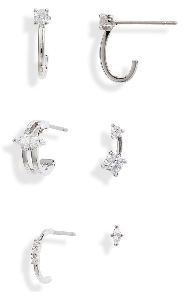 <p><span>Nordstrom Set of 6 Ear Party Earrings</span> ($30, originally $59)</p>