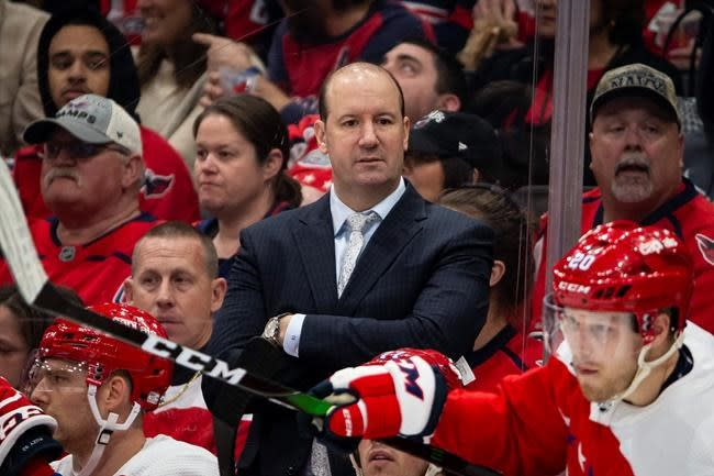 Capitals fire coach Todd Reirden after 2 post-season letdowns