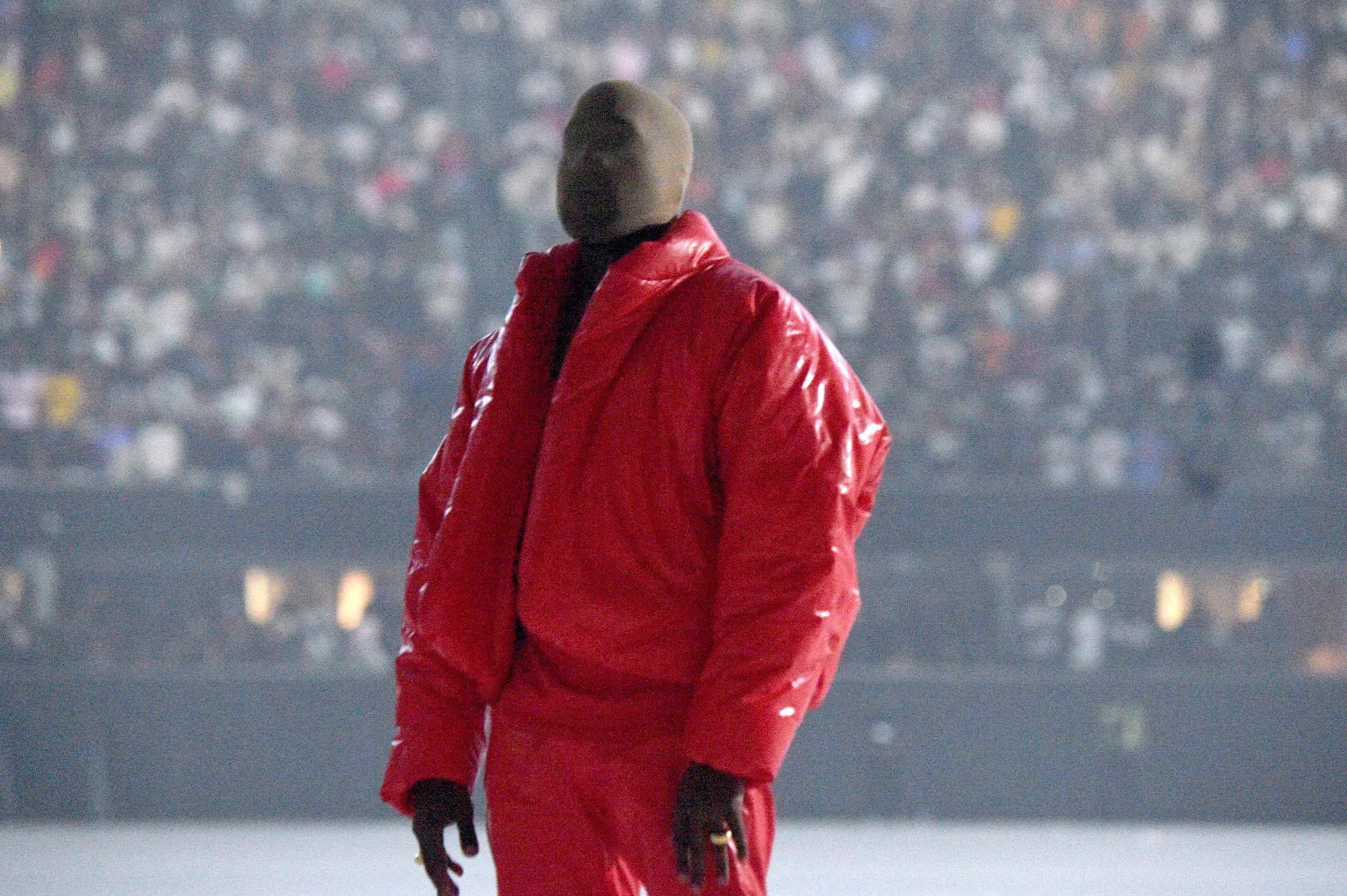 Kanye West apparently went to the Atlanta United game and may have been kicked out of some seats