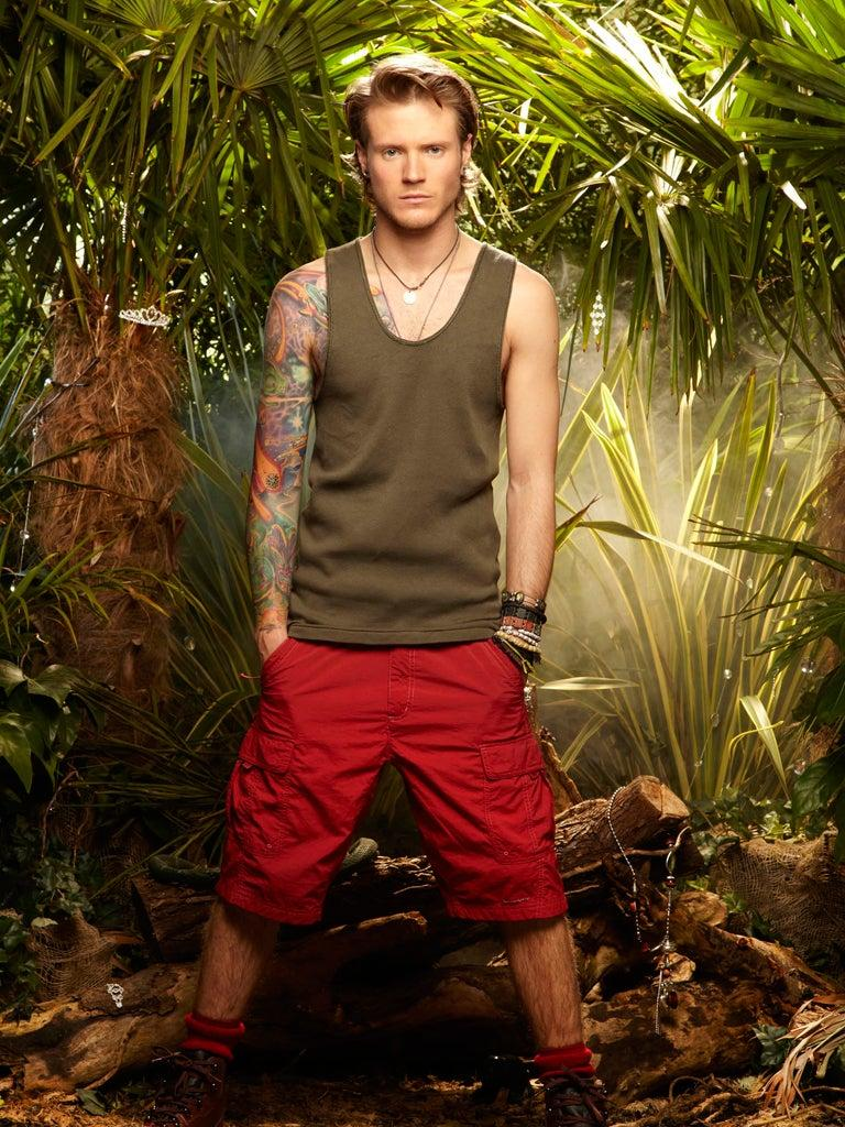 McFly's Dougie Poynter during his stint on I'm A Celebrity...Rex Features