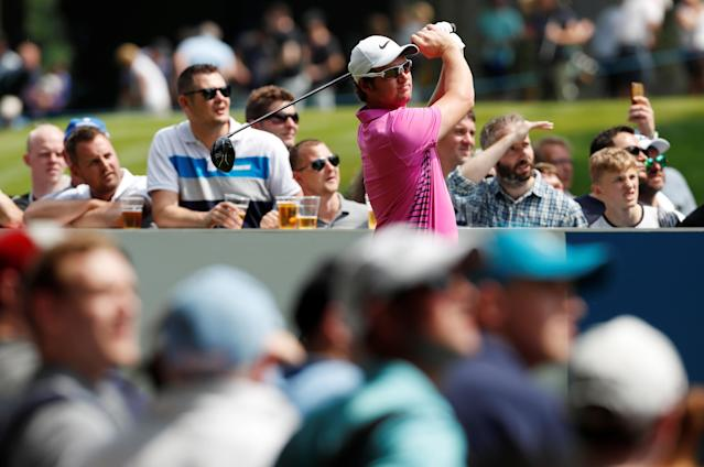 Golf - European Tour - BMW PGA Championship - Wentworth Club, Virginia Water, Britain - May 26, 2018 England's Sam Horsfield during the third round Action Images via Reuters/Paul Childs