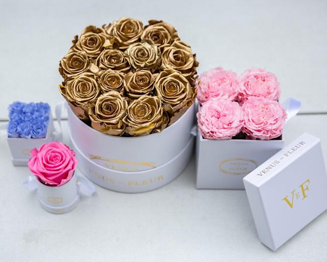 <p>For the super-fabulous, reality-star-worthy mom, there is nothing more fab than a box from Venus et Fleur. Using Parisen gift boxes, these flowers can last up to a year if cared for properly, thanks to a special formula developed by the team. The company is based in NYC but ships countrywide or internationally, depending how fabulous your mom is. <br>(Photo: Priscilla De Castro) </p>