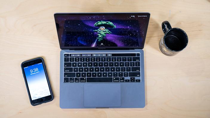 The new 13-inch Macbook Pro is gorgeous and powerful.
