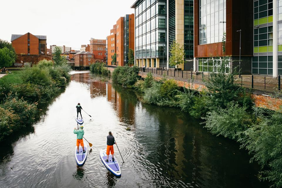 Explore Sheffield's waterways by stand-up paddle board [Photo: DC Outdoors]