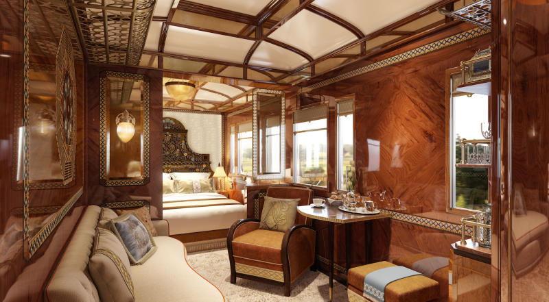 A sneak preview of the 'Budapest' suite [Photo: Belmond]