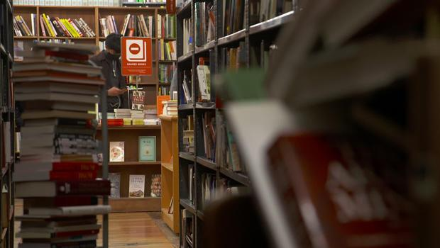The Strand Book Store in New York City.  / Credit: CBS News