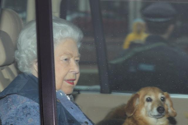 The Queen left Buckingham Palace earlier than normal for her traditional Easter break at Windsor Castle because of the virus outbreak. Aaron Chown/PA Wire