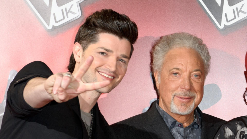 Danny O'Donoghue says he couldn't keep up with Tom Jones at the bar. (Ben Pruchnie/Getty Images)