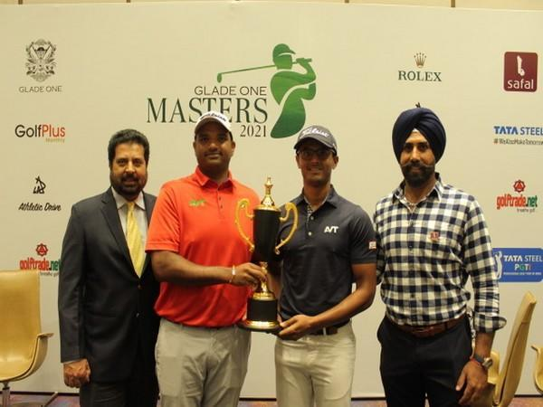 Glade One Masters 2021 trophy