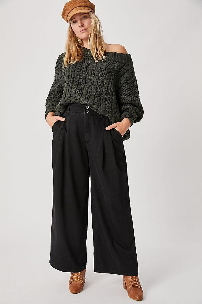 """<br><br><strong>Pilcro and the Letterpress</strong> Pilcro Ultra High-Rise Pleated Wide-Leg Jeans, $, available at <a href=""""https://go.skimresources.com/?id=30283X879131&url=https%3A%2F%2Fwww.anthropologie.com%2Fshop%2Fpilcro-ultra-high-rise-pleated-wide-leg-jeans%3F"""" rel=""""nofollow noopener"""" target=""""_blank"""" data-ylk=""""slk:Anthropologie"""" class=""""link rapid-noclick-resp"""">Anthropologie</a>"""