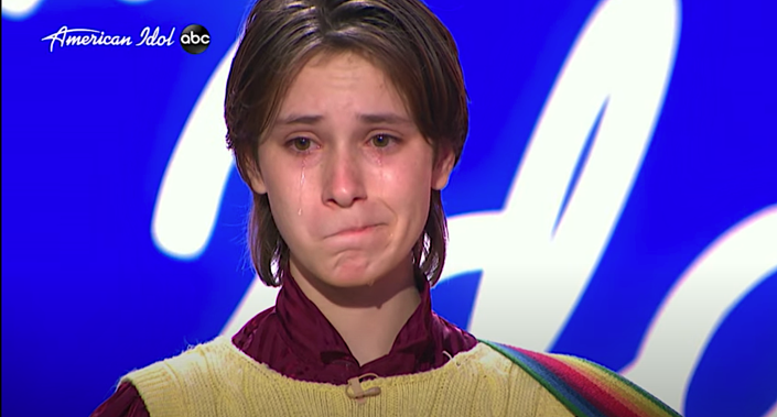 Ace Stiles is inexplicably rejection on 'American Idol.' (Photo: ABC)