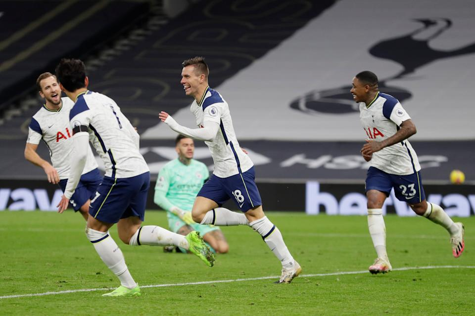 <p>Spurs exposed City and still managed a clean sheet</p>AP