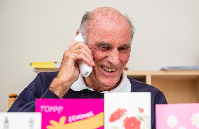 Tony is already planning to take up neighbours' offers of chats and G&Ts (swns)
