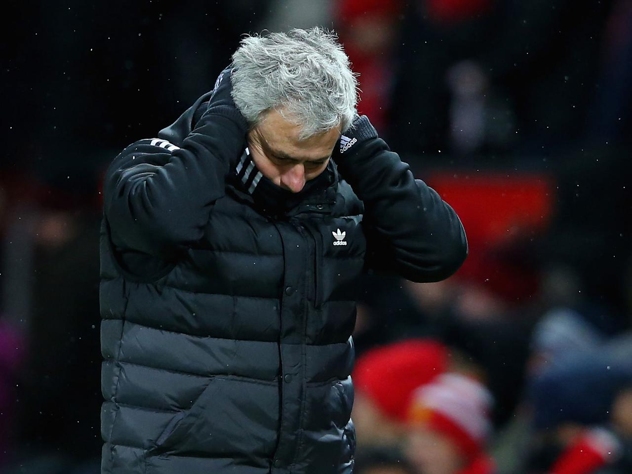 Jose Mourinho hits out at Manchester United players for lack of 'personality, class and desire' after Brighton win