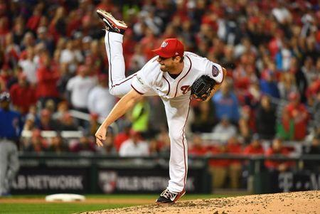 Nationals' Max Scherzer wins NL Cy Young Award for 2nd straight season