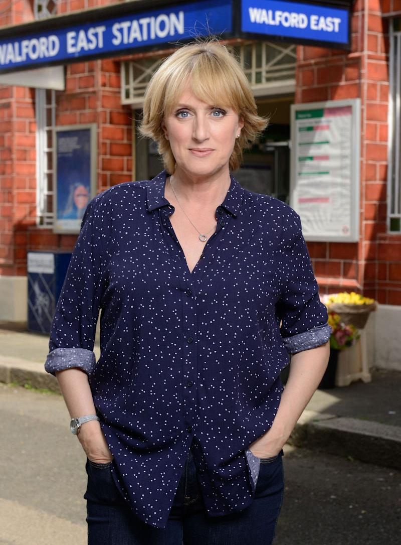 <strong>Jenna Russell is leaving her role as Michelle Fowler in 'EastEnders'</strong> (Photo: BBC)