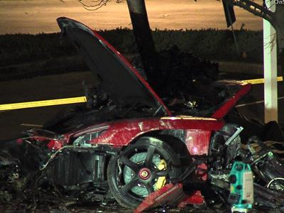 "Police say speed was a factor in the crash near Los Angeles that killed two people, including Paul Walker, the star of the ""Fast & Furious"" movie series. He was 40. (Dec. 1)"