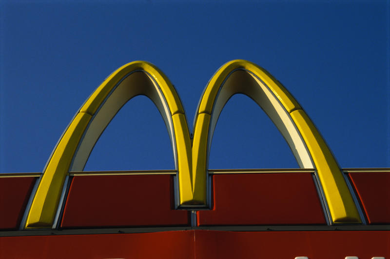 McDonald's wins right to slash thousands of workers' pay. Source: Getty