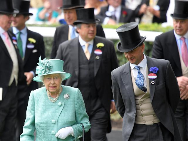 Horse Racing - Royal Ascot - Ascot Racecourse, Ascot, Britain - June 23, 2017 Britain's Queen Elizabeth arrives at Ascot REUTERS/Toby Melville