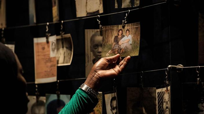 Over 800,000 people were killed in the Rwanda genocide