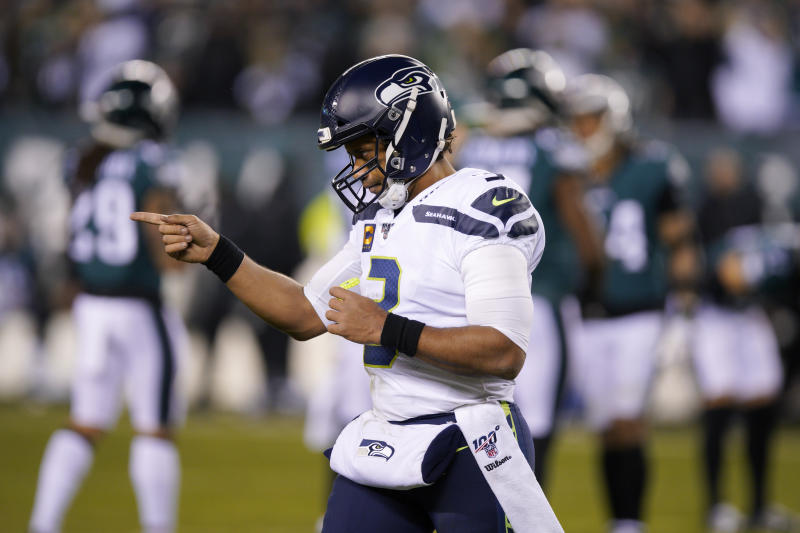 Was Russell Wilson the subject of trade talks two years ago? (AP Photo/Chris Szagola)
