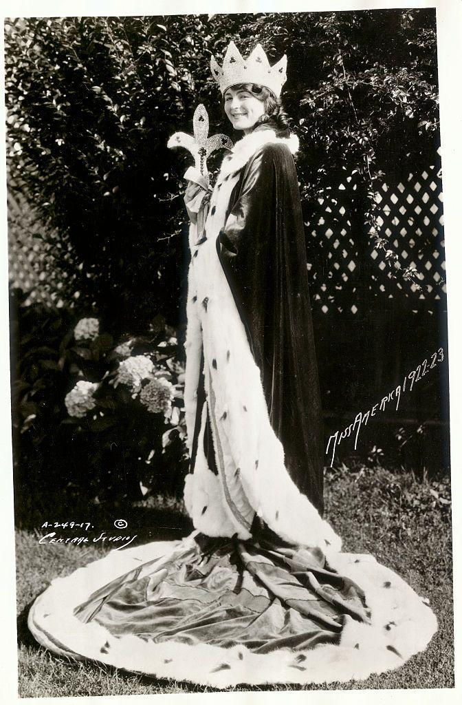 <p>In 1922, Mary Campbell from Ohio was the first Miss America to don a regal robe, crown, and scepter. She was also the only person in the pageant's history to take home the crown twice—both in 1922 and 1923. </p>