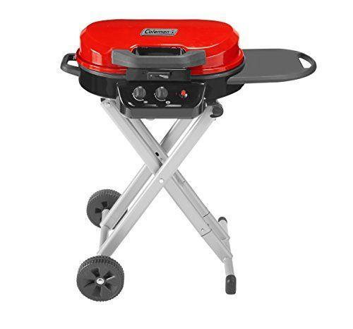"""<p><strong>Coleman</strong></p><p>amazon.com</p><p><strong>$219.99</strong></p><p><a href=""""https://www.amazon.com/dp/B07BLHC2G2?tag=syn-yahoo-20&ascsubtag=%5Bartid%7C1782.g.36422297%5Bsrc%7Cyahoo-us"""" rel=""""nofollow noopener"""" target=""""_blank"""" data-ylk=""""slk:BUY NOW"""" class=""""link rapid-noclick-resp"""">BUY NOW</a></p><p>Foldable and rollable, the Coleman gas grill is compact enough to pack yet big enough to include a small side table for food prep.</p>"""