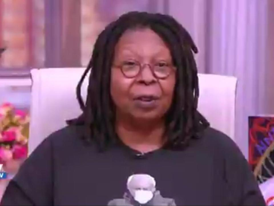 <p>Whoopi Goldberg en The View.</p> (The View)