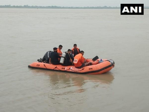 Search underway for the three missing people in Saryu River