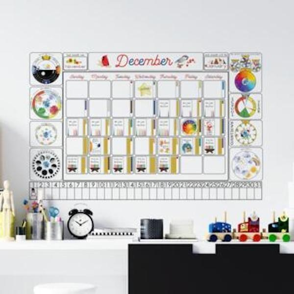 """<p>""""One thing I noticed last year during homeschool was that my kids were losing track of the days. This <span>Montessori Calendar Materials Bundle</span> ($25) is so much fun and something we can do together each day to start the school day."""" - DAC</p>"""