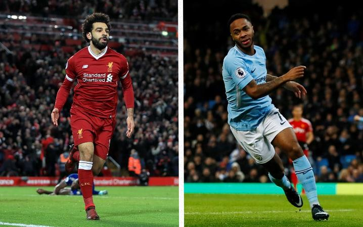Mohamed Salah and Raheem Sterling have been in red hot form in front of goal - Getty Images