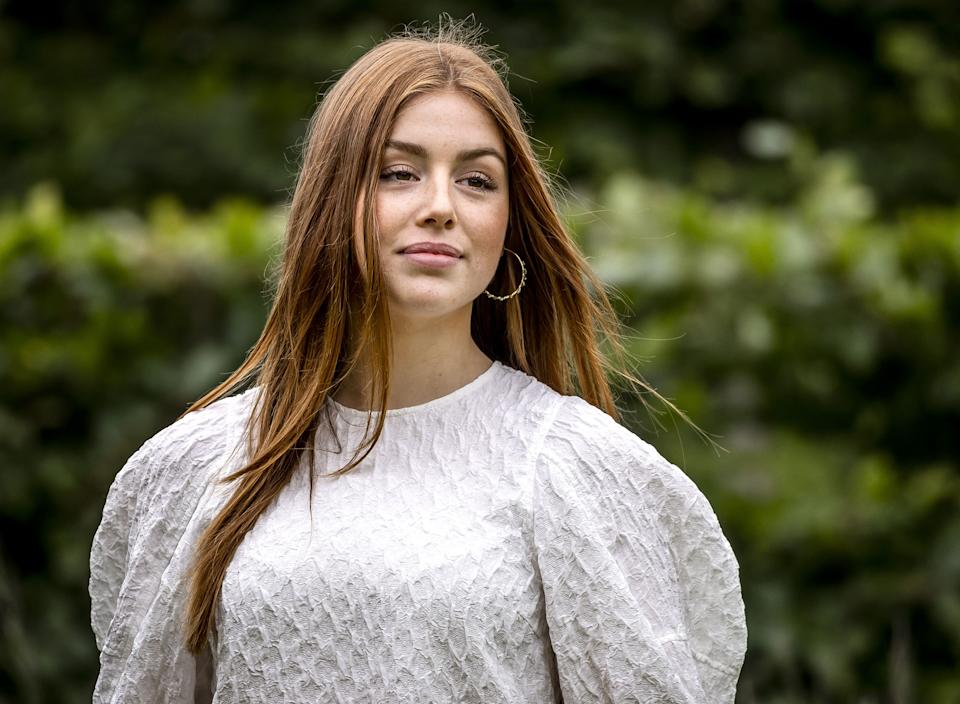 Princess Alexia of the Netherlands poses during the summer photo session at Huis ten Bosch Palace in The Hague, on July 16, 2021. - Netherlands OUT (Photo by Remko de Waal / ANP / AFP) / Netherlands OUT (Photo by REMKO DE WAAL/ANP/AFP via Getty Images)