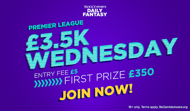 """Win £300 cash playing fantasy football <a href=""""http://bit.ly/2rxsVm1"""" rel=""""nofollow noopener"""" target=""""_blank"""" data-ylk=""""slk:here"""" class=""""link rapid-noclick-resp"""">here</a>!"""