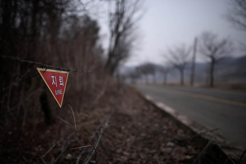 After decades of official silence, South Korea is beginning to compensate hundreds of landmine victims maimed during the Korean War and its Cold War aftermath (AFP Photo/Ed Jones)