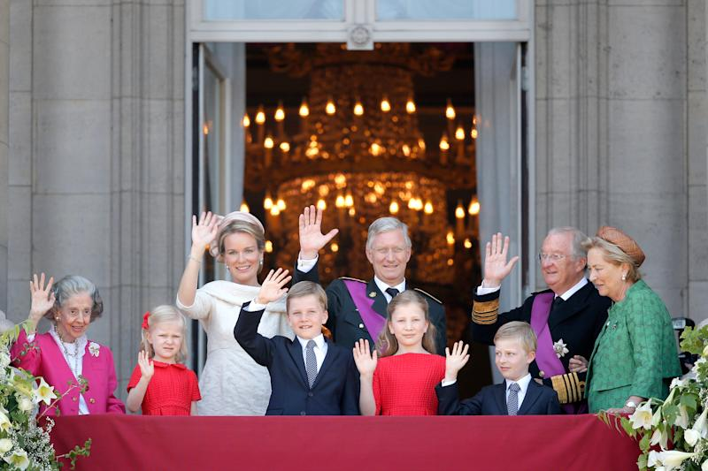 seen during the Abdication Of King Albert II Of Belgium, & Inauguration Of King Philippe on July 21, 2013 in Brussels, Belgium.