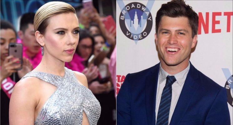 Scarlett Johansson reata namoro com comediante do 'Saturday Night Live'