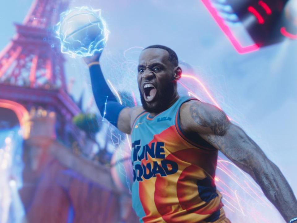 "LeBron James in ""Space Jam: A New Legacy"" (Bild: © 2021 Warner Bros. Entertainment Inc.)"