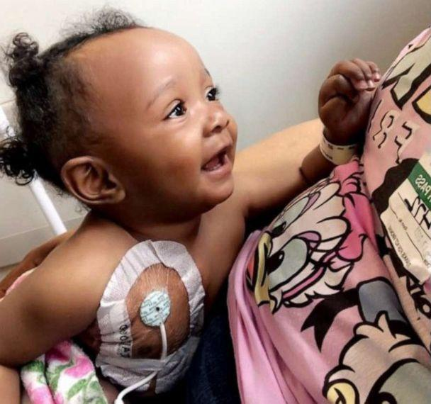 PHOTO: 8-month-old True Haden was recently diagnosed with congenital amegakaryocytic thrombocytopenia (CAMT). (Courtesy Anessa Haden)