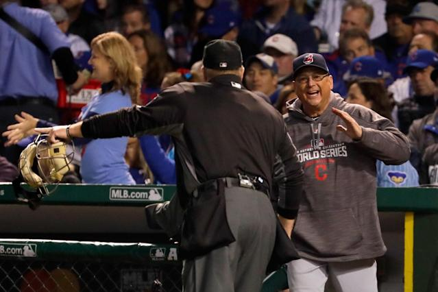 Terry Francona has guided the Indians within a win of the championship. (Getty)